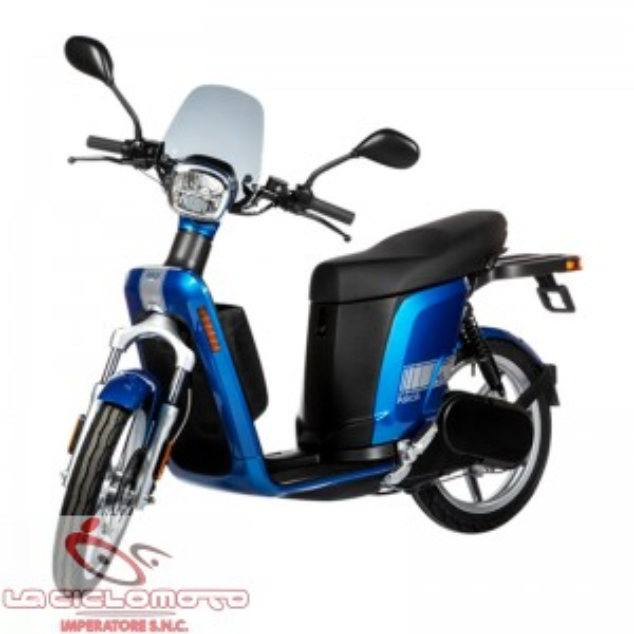 Scooter elettrico biposto Askoll es3EVOlution Blu elettrico euro5 ECOBONUS + ROTTAMAZIONE