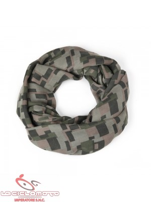 foulard lagotto w collare combo green blocks