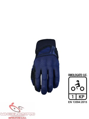 guanti touch rs3 blu navy