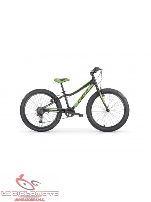 bici 20 drift fat bike 6 v nero opaco verde