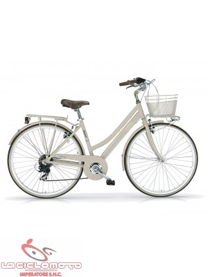 "bici boulevard 28"" donna woman mod. 836 - 6s city bike mbm"