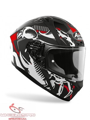 Casco integrale Airoh Valor Claw nero opaco