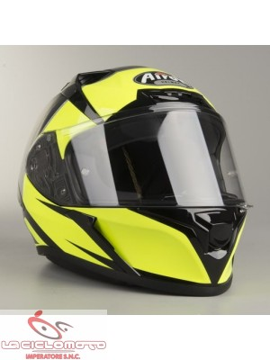 Casco integrale Airoh Valor Eclipse giallo lucido