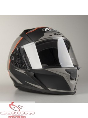 Casco integrale Airoh Valor Eclipse arancio opaco